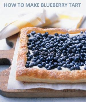How To Make Blueberry Tart?