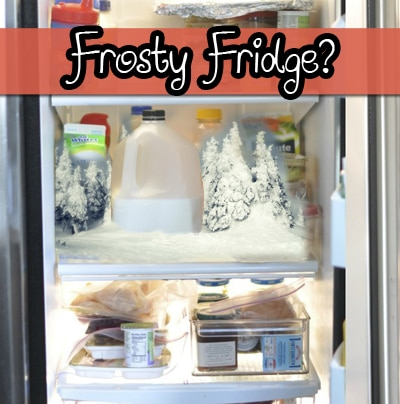How to Kill Frost Build Up In Refrigerators