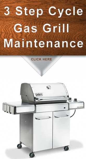 Gas Grill Maintenance | 3 Step Cycle