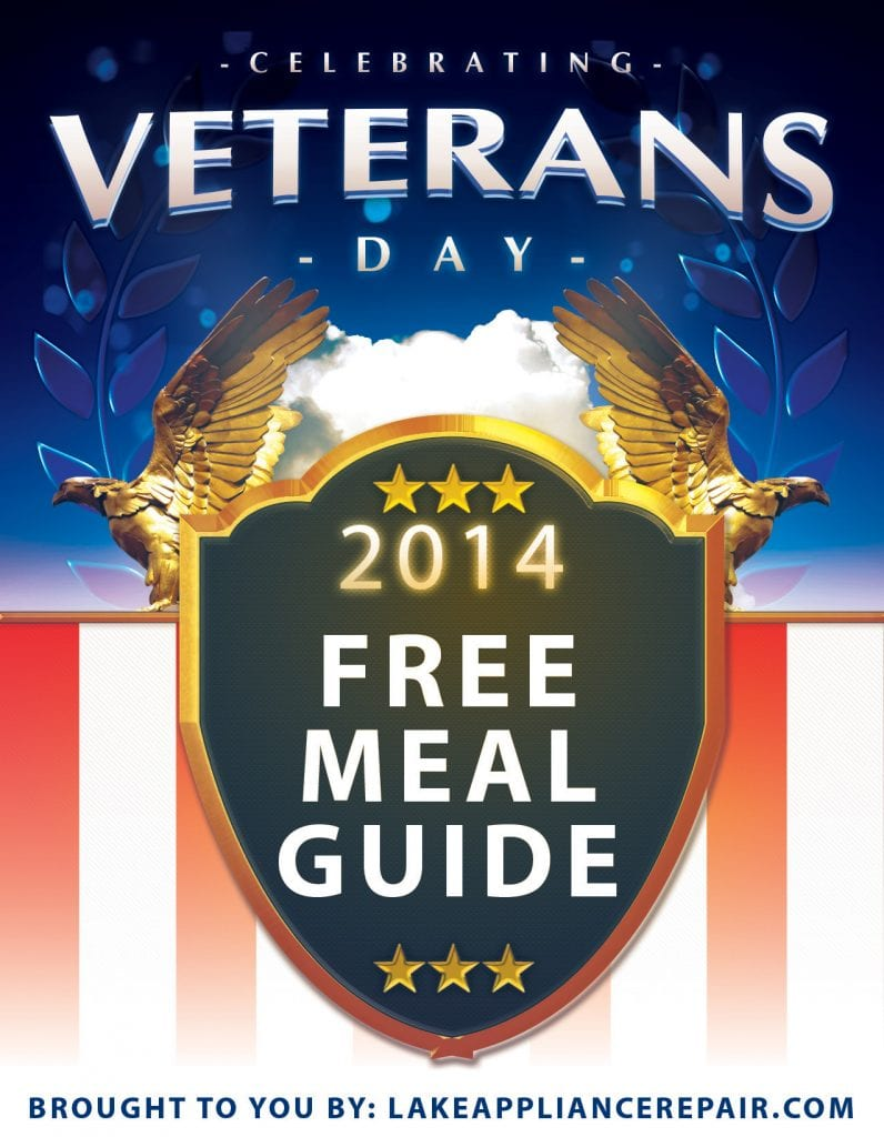 Free Meals For Veterans Day 2014 In Sacramento Amp Folsom