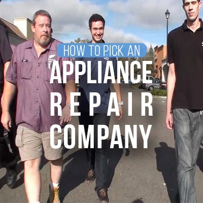 How to Pick an Appliance Repair Company