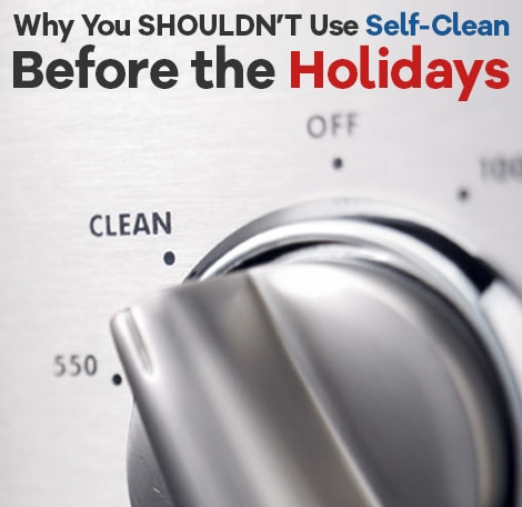 Don't Self-Clean Your Oven Before a Major Cooking Holiday. Here's Why…