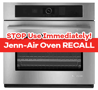 JennAir Oven Owners Product Recall Info