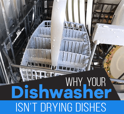 Dishwasher isn't drying dishes?