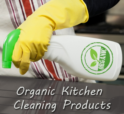 "Say ""Yes"" to Organic Kitchen Cleaning Products and (almost) Scrub Free Solutions"