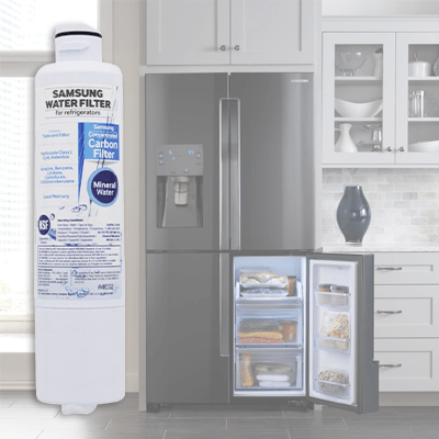 How To Install Samsung Refrigerator Water Filter Da29 00020a Same As Kenmore 46
