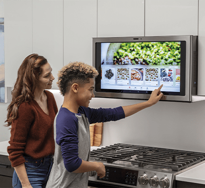 GE Kitchen Hub – The Touchscreen You Mount Above Your Stove