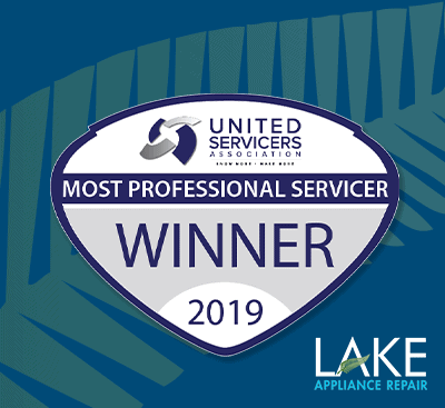 Lake Appliance Repair Wins Coveted Most Professional Servicer Award at 2019 ASTI