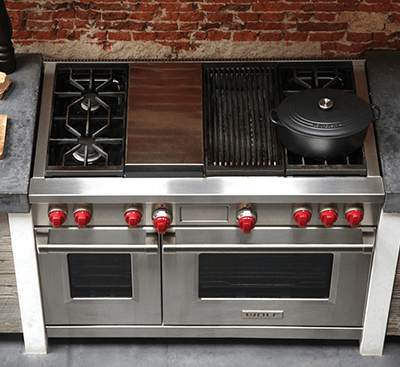 How to Clean Wolf Gas Range Top: Burners, Grates, & Components