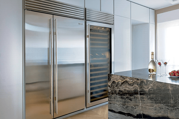 Difference Between Integrated And Built In Refrigerators Lake Appliance Repair