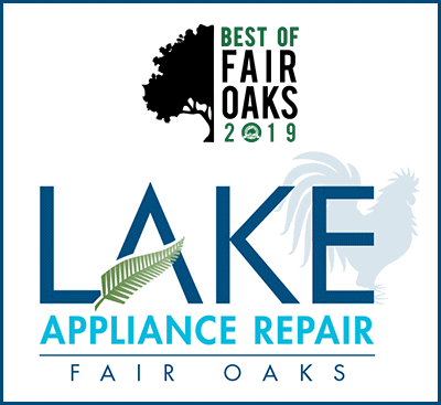Lake Appliance Repair Wins Best of Fair Oaks 2019!
