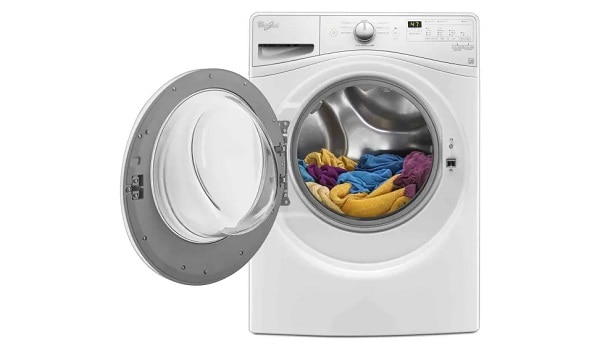 my whirlpool front load washer won't turn on