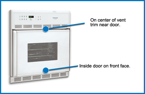 Appliance Model Number Look Up How To Locate Model