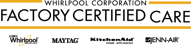 whirlpool factory authorized appliance repair