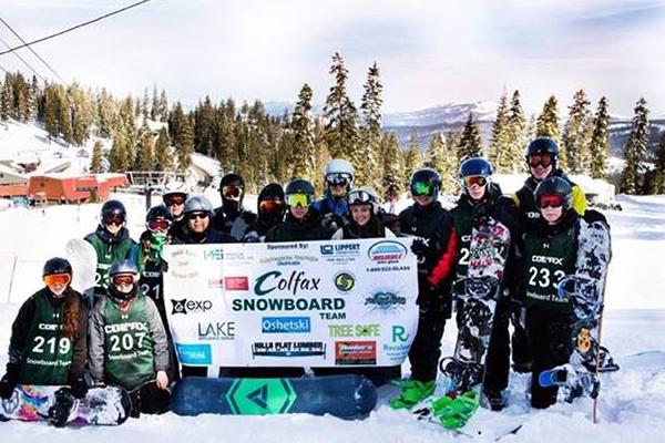 colfax snowboard team sponsor
