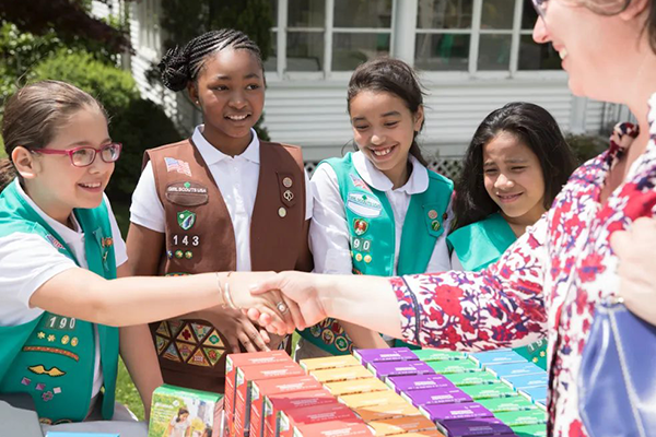 girl scouts sponsor
